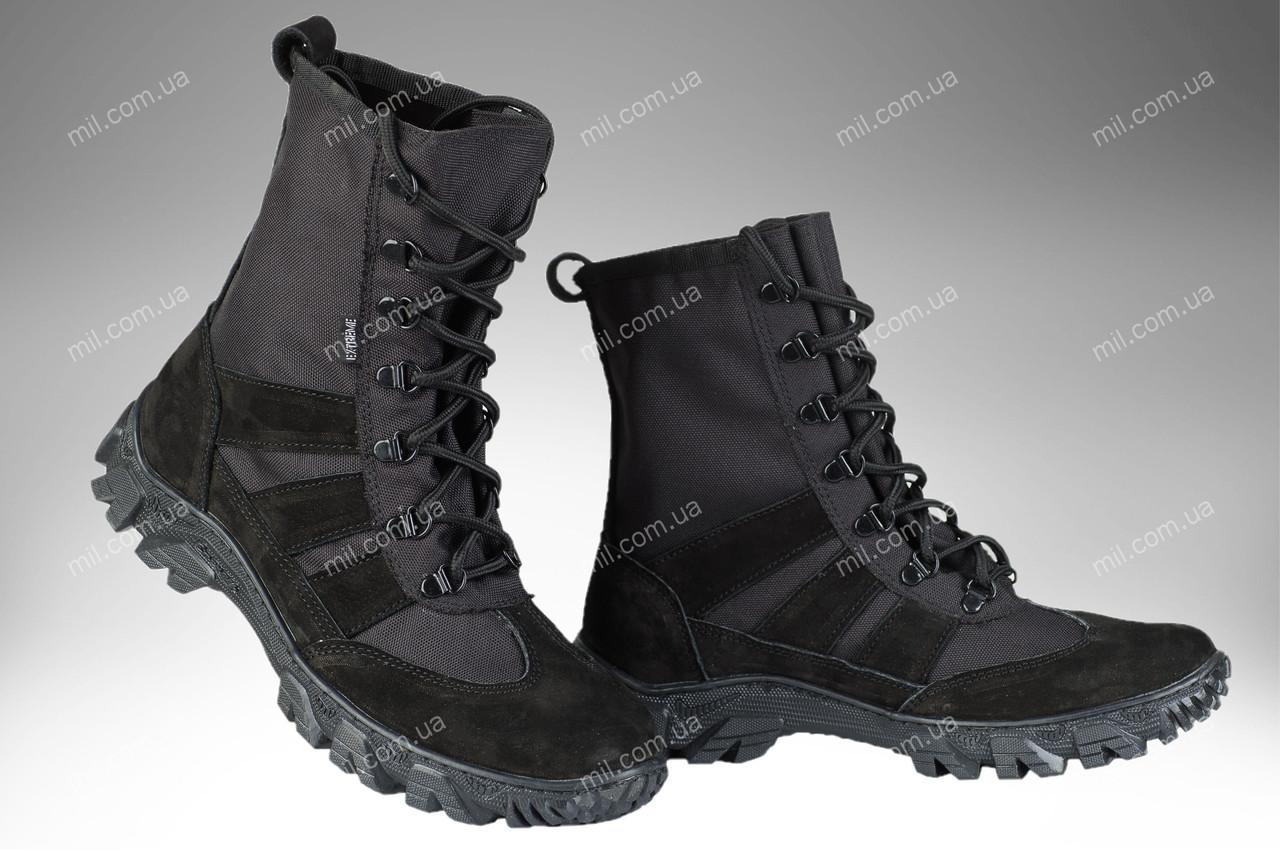 Берцы облегченные военные / армейская, тактическая спец обувь X Shadow (black)