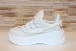 Кросівки жіночі білі Т1274, фото 2