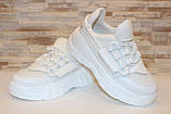 Кросівки жіночі білі Т1274, фото 3