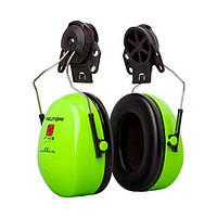 Навушники (ЗМ) H520P3E-467-GB Оптим-2 для захисн. каски, HI-VIZ