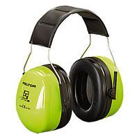 Навушники (ЗМ) H540A-461-GB Оптим-3, вертик, HI-VIZ