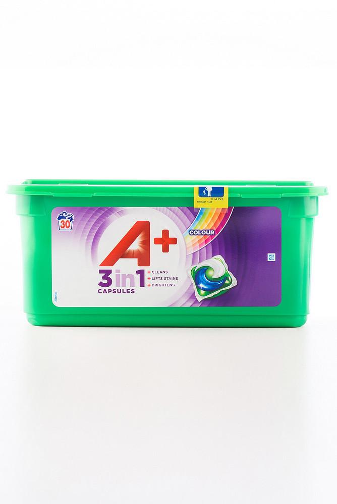 - Порошок Ariel пральн. (капсула) (3*30/27gr.) 3в1 A+ Color