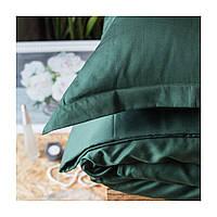 Постельное белье полуторное Комильфо люкс-сатин 160х220 зеленый KT0015