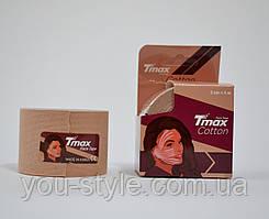 Тейп для лица Tmax Tape 5см х 5м Коттон Бежевый