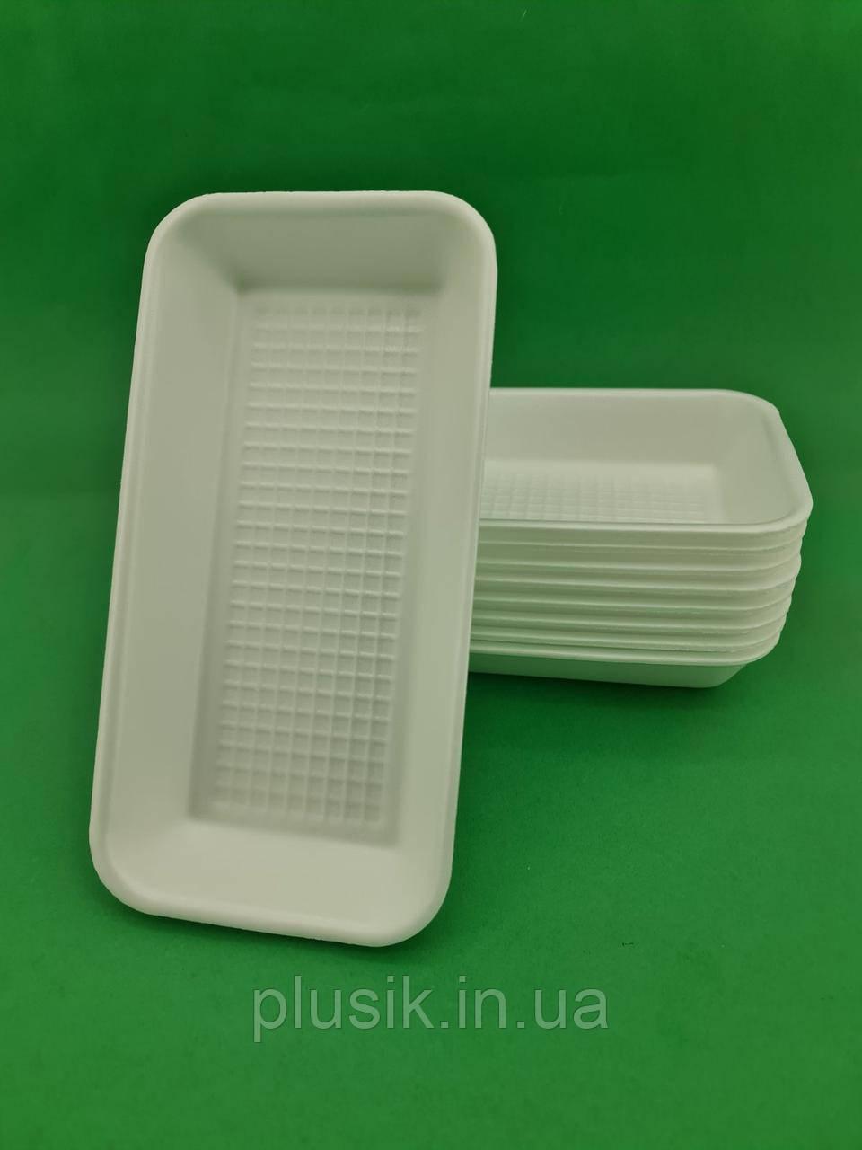 Підкладка (лотки) зі спіненого полістиролу (270*136*35)T-1-35 (200 шт)
