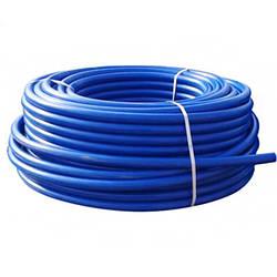 Полиэтиленовая труба пищевая Aquaviva Ø32 PN10х2,4 (синяя) 100 метров