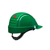 Каска захисна (3М) G2000CUV-GP з вентиляцією, зелена, синтетична