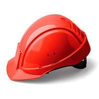 Каска захисна (3М) G2000CUV-RD з вентиляцією, червона, синтетична