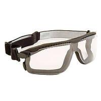 Закриті окуляри (3М), 13330-00000M, Максим Гібрид, полікарб., прозорі, DX