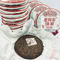 Чай Пуер шу 7578 Хайвань вага млинця 357 гр.