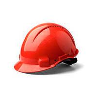 Каска захисна (3М) G3000CUV-RD з вентиляцією, червона, синтетична