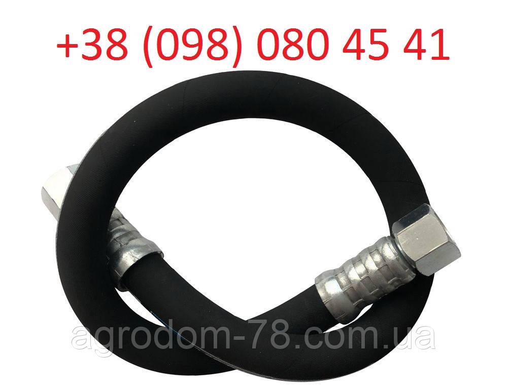 Рукав високого тиску гайка 24 Стандарт (1SN) 0.6 метр РС241-06