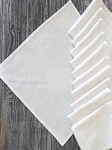 Набор салфеток 45х45 PAVIA GENESIS (12 штук) белый