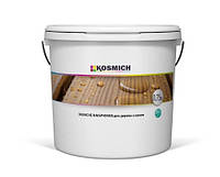 Защитная пропитка для дерева с лаком KOSMICH (0,75 л)