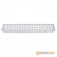 Аварийный светодиодный светильник ЕВРОСВЕТ SFT-LED-60-01 аккумуляторный, фото 1
