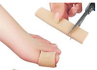Силиконовая трубка, чехол (напальчник) для большого пальца ноги, размер (L), 1 шт.