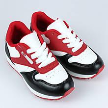 Кроссовки подростковые спортивные красные для девочекLaVento