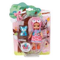 Кукла Zapf Mini Chou Chou Лисички Бьюти 12 см с аксессуарами (920329)
