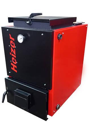 Котел холмова шахтний Heizer Opti 15 кВт (Хейзер Опти). Безкоштовна доставка!, фото 2