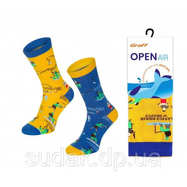 Шкарпетки Graff термоактивні OPEN AIR антібактеріальні