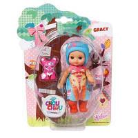 Кукла Zapf Mini Chou Chou Лисички Грейси 12 см с аксессуарами (920343)
