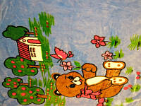 Одеяло детское покрывало плед 90х110