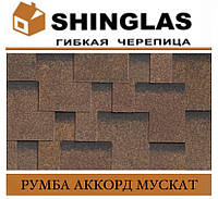 ОПТ - Черепица SHINGLAS Румба Аккорд Мускат, фото 1