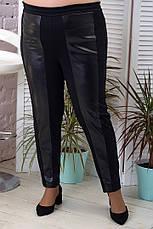 Штани жіночі на резинці великого розміру батал, фото 2