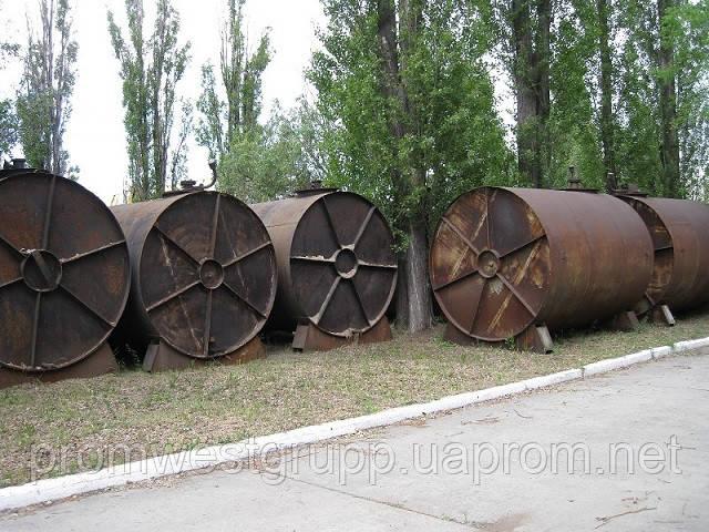 Резервуар, емкость, бочка, цистерна толстостенная металлическая 21 м³