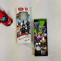 Детский подарочный наборстоловыхприборов The Ninjago