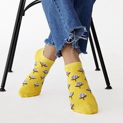 "Короткие женские носочки V&T socks с рисунком ""Одуванчик"""
