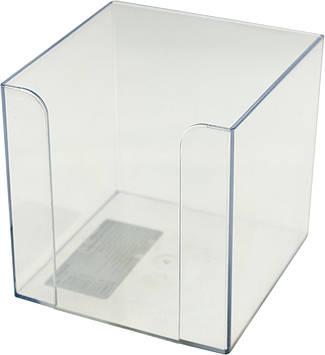 "Куб для паперу ""Delta by Axent/Axent"" №4005-27 9х9х9см прозор.(1)"