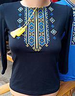 Вышитая женская футболка  305 САК, фото 1