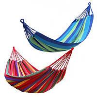 Мексиканский подвесной гамак без планок 150 х 200 см ( в ассортименте)