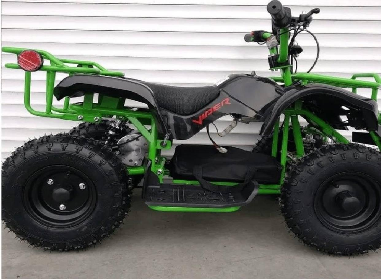 Квадроцикл електричний дитячий Кроссер 36V 1000W Green