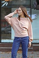 Женский свитшот ONLY розового цвета размер S