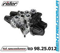 4-х контурный защитный кран Mercedes-Benz Atego A0034316106, A0034316806, 9347050050 Rider  RD 98.25.012