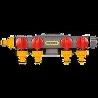 Разделитель потоков Hozelock 2150 четырехпутевой