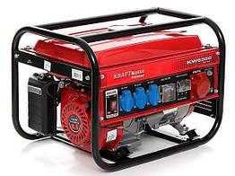 Генератор бензиновый KRAFT & DELE KD130 4,5 кВт