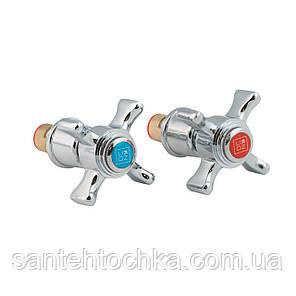 """Кран-букса Lidz (CRM)-53-22 000 00 1/2"""" з ручкою, фото 2"""