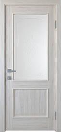 Двері міжкімнатні Вілла Р1 скло сатин Ясен New, 600
