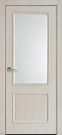 Двері міжкімнатні Вілла Р1 скло сатин Ширина, 600