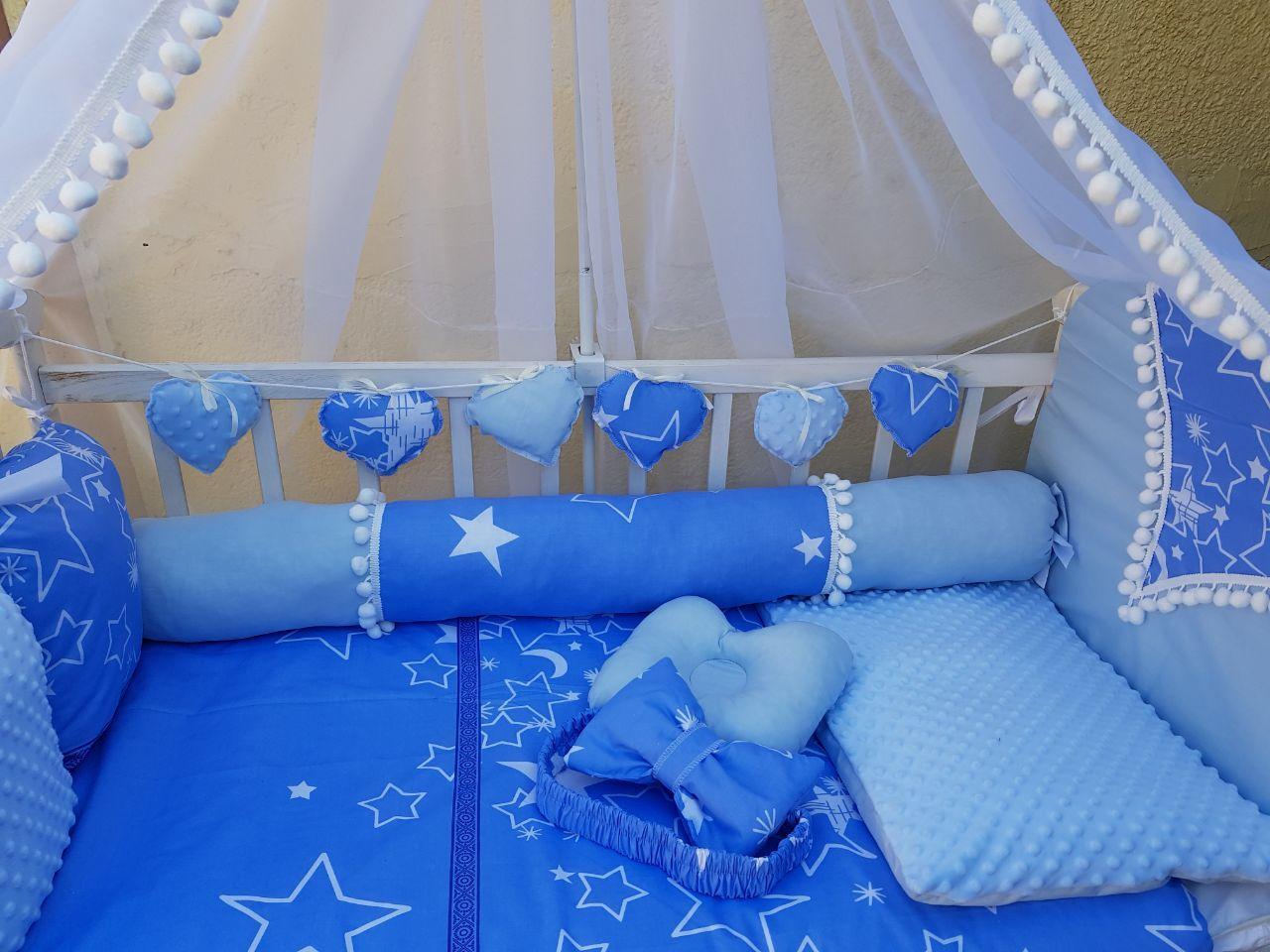 Постільні комплекти в ліжечко для новонароджених