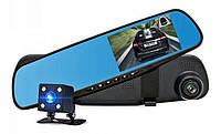 Дзеркало відеореєстратор з камерою заднього виду DVR 1388EH/1433 138W, фото 1