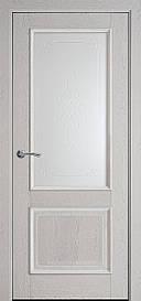 Двері міжкімнатні Вілла Р1 скло сатин Патина сіра, 900