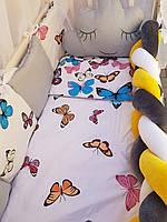 Постельный комплект для новорожденных в кроватку, фото 1