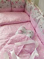 Элитный  постельный комплект для новорожденных, фото 1