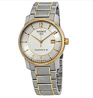 Годинники чоловічі Tissot T-Classic Automatic Titanium T087.407.55.037.00 POWERMATIC 80, фото 1