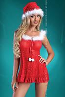 Сексуальный мини-пеньюар Christmas Bell LC