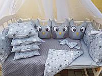 Модный постельный набор для новорожденный, фото 1